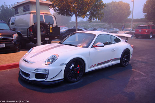 porsche gt3 rs 4.0 rz Irvine Cars and Coffee   New Years Eve